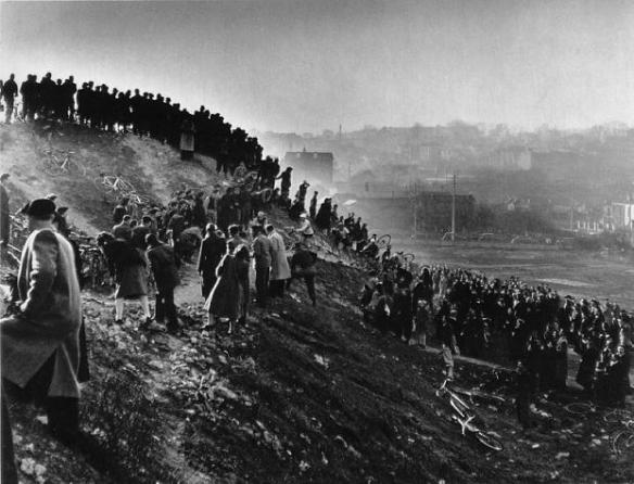 Cyclo-Cross à Gentilly © Robert Doisneau