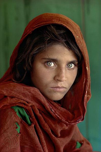Afghan Girl - Steve McCurry