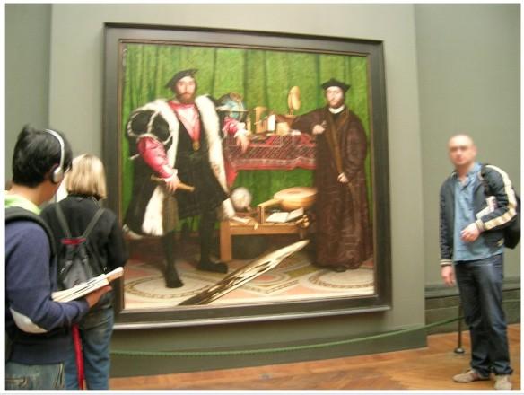 Les ambassadeurs d'Holbein grandeur nature